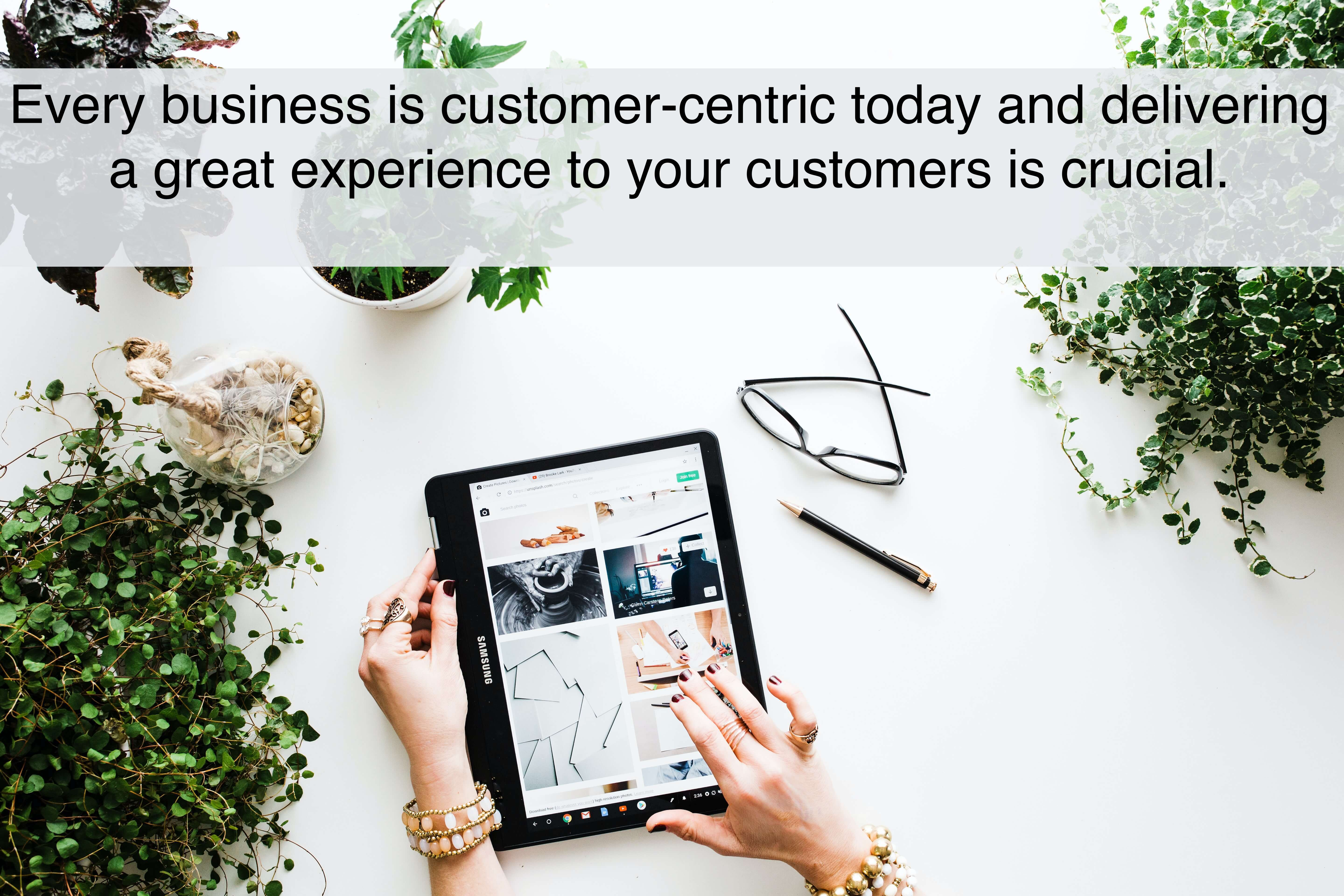 Customer Experience for B2B eCommerce Business.