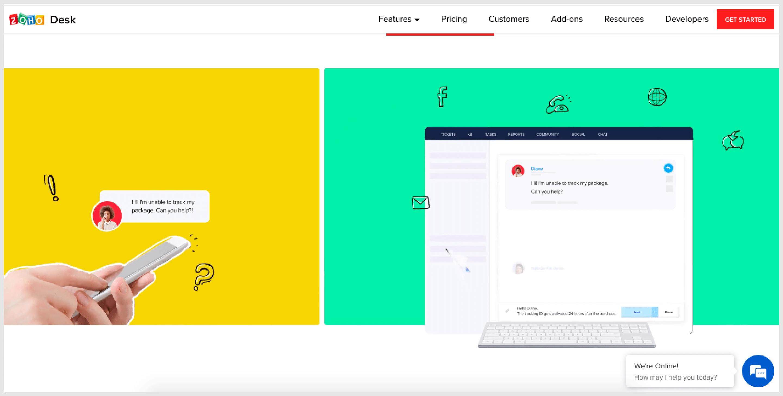 Help Desk Software - Zohodesk.