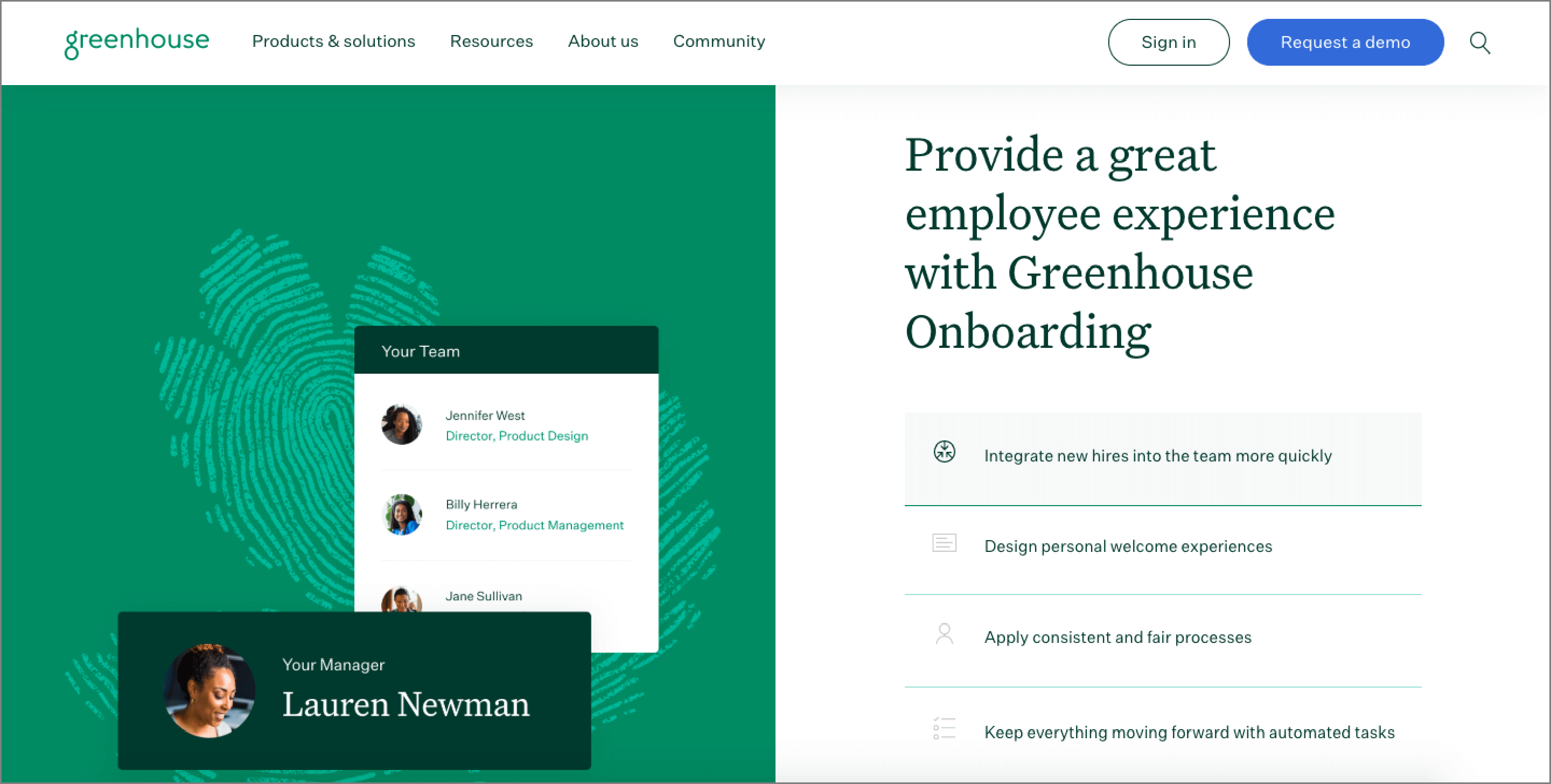 Applicant Tracking Software - Greenhouse.