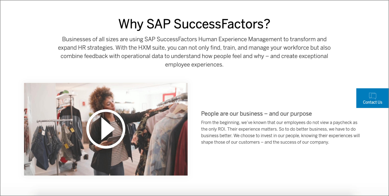 Applicant Tracking Software - SAP SuccessFactors.