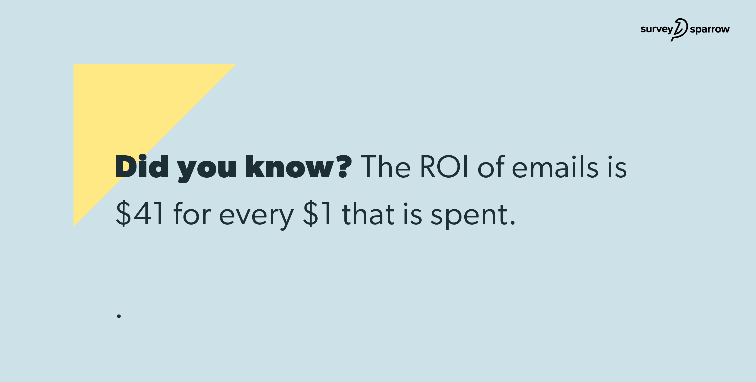 lead generation strategy - ROI of Emails