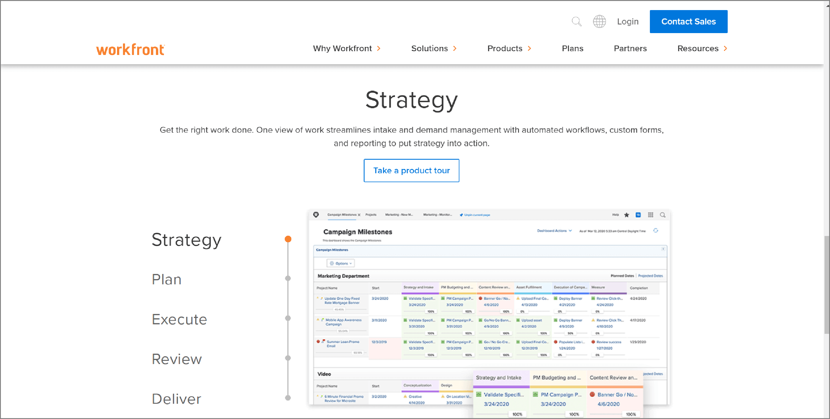 Project Management Software - Workfront.