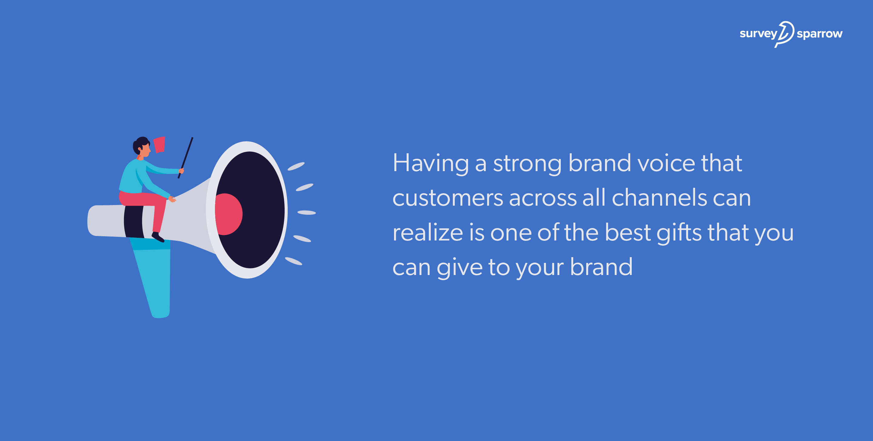 Having a strong brand voice that customers across all channels can realize is one of the best gifts that you can give to your brand.