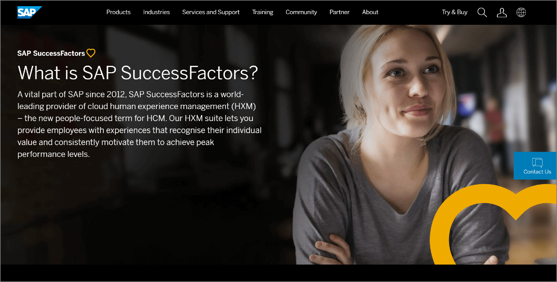 SAP SuccessFactors - Lattice Alternative.