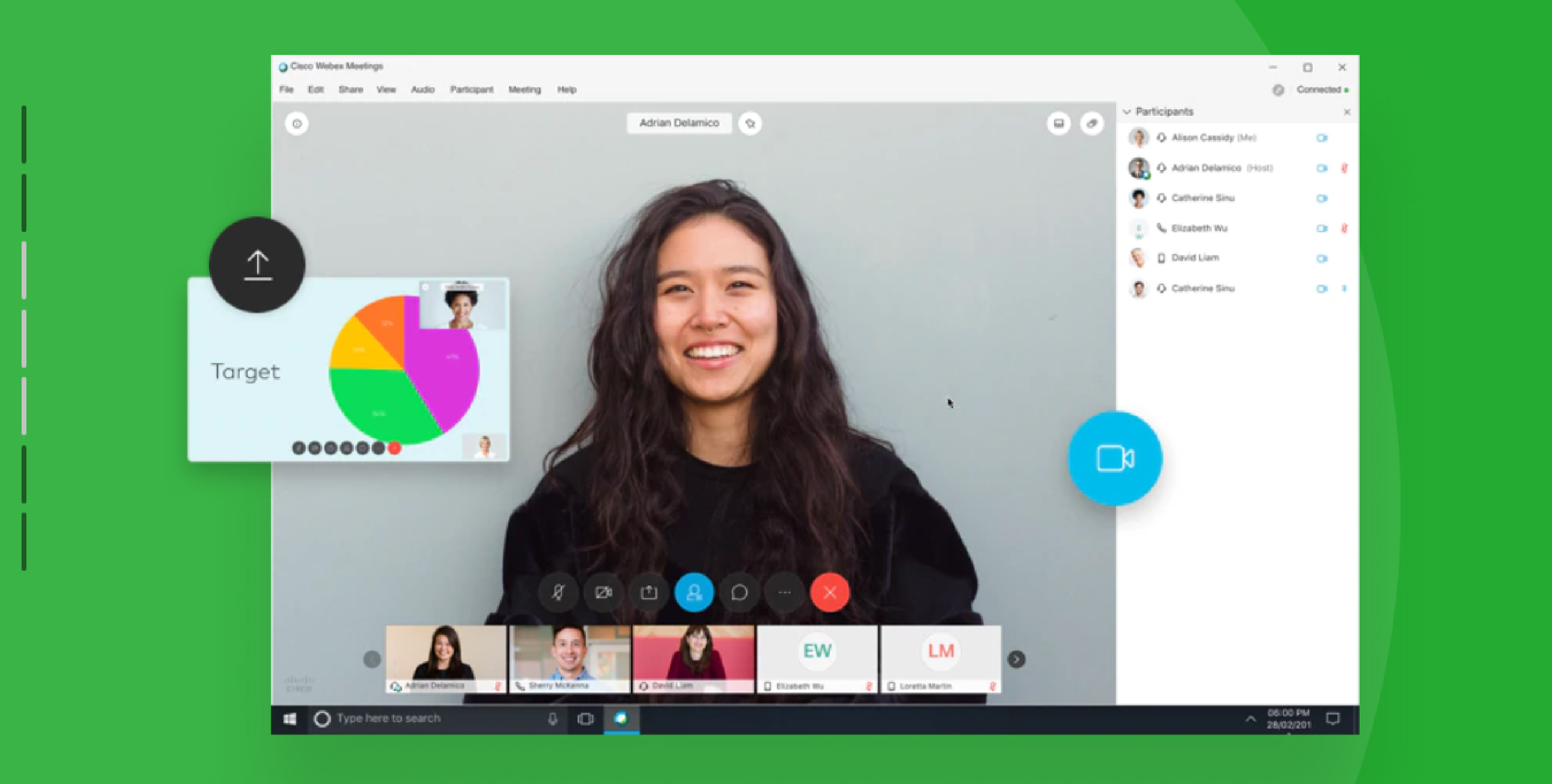 Video Conferencing App - Cisco Webex Meetings.