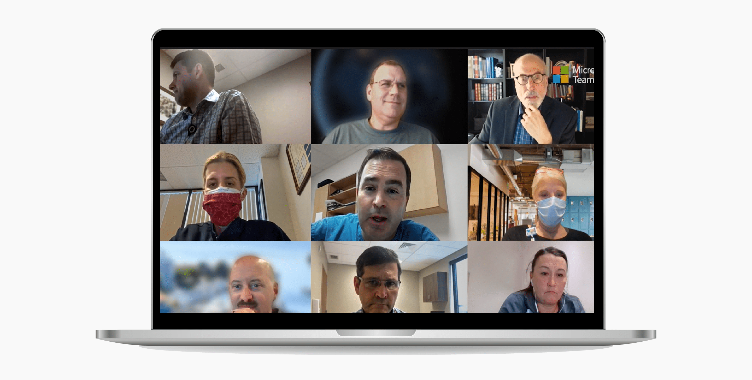Video Conferencing App - Microsoft Teams.