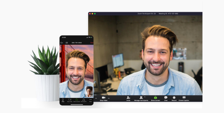Zoom - Video Conferencing App.