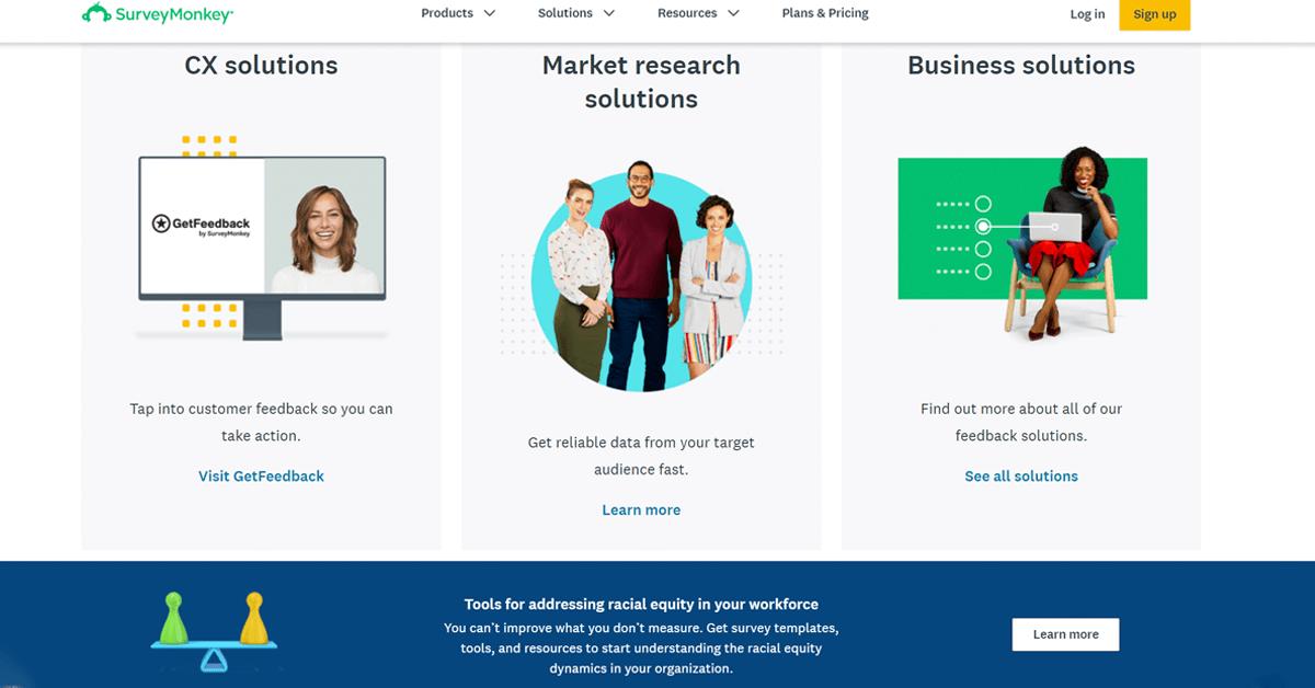 JotForm competitors - SurveyMonkey