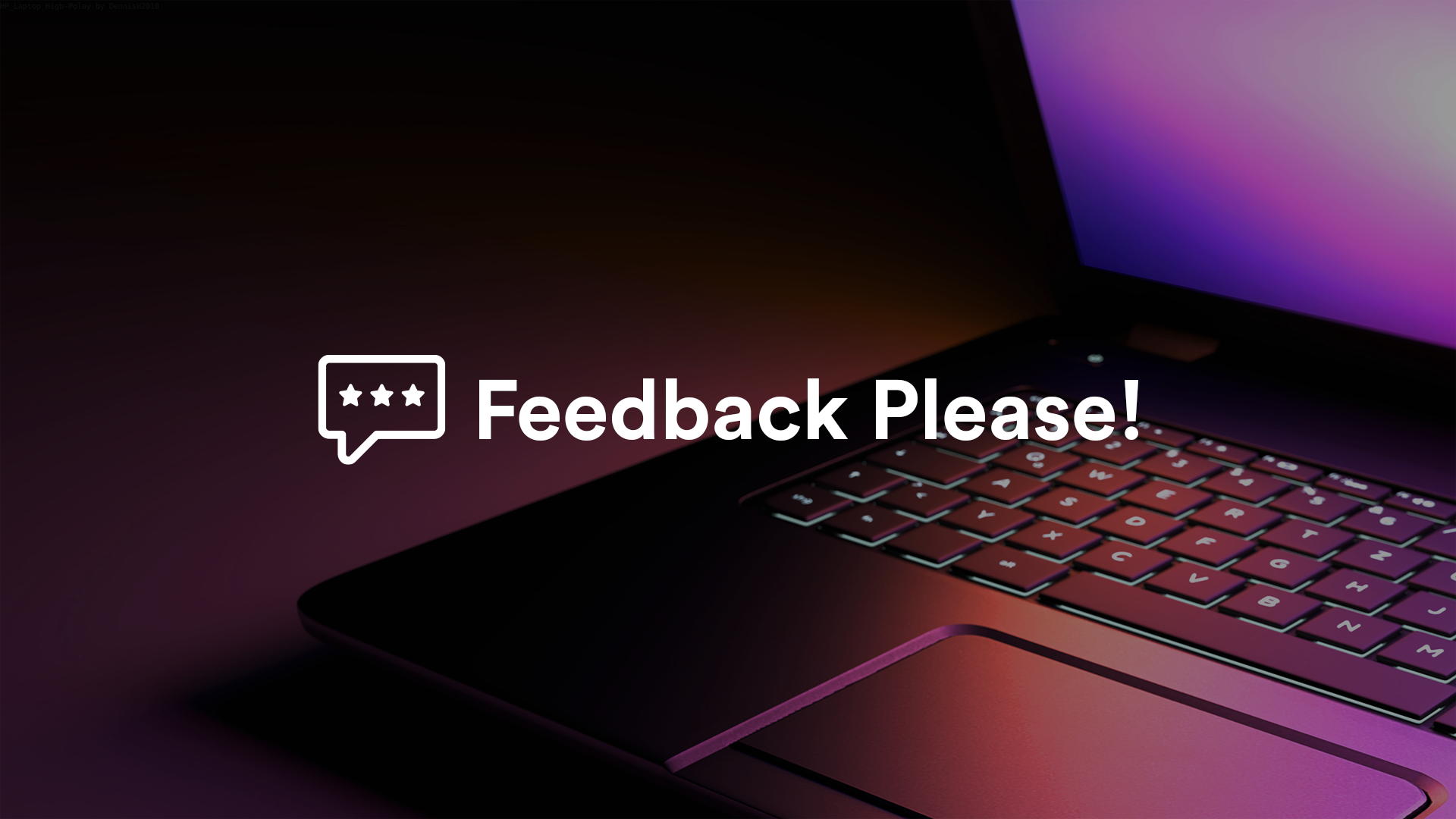 Website Feedback Survey Template