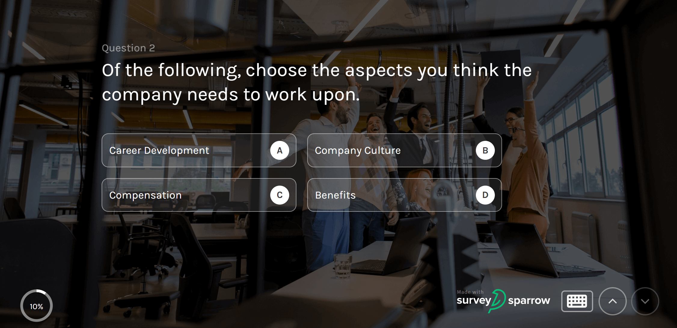 employee engagement survey questions.