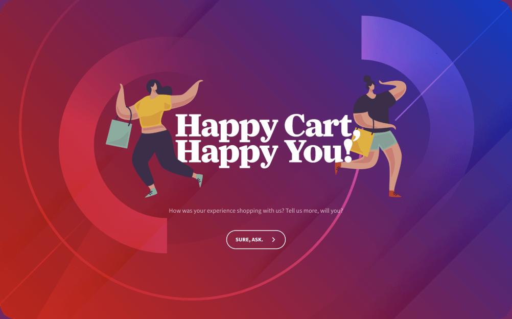 online shopping survey template
