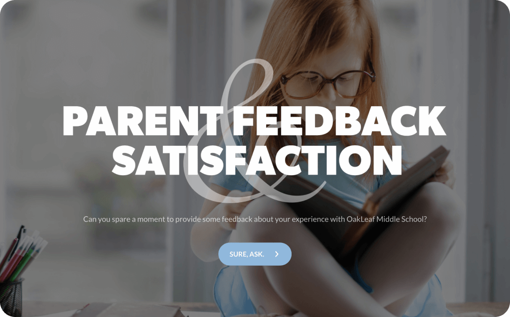 parent satisfaction survey template