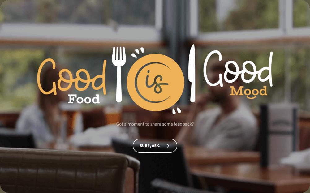 restaurant customer satisfaction survey template