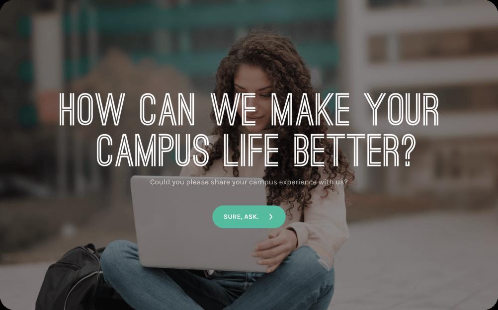 student feedback survey template