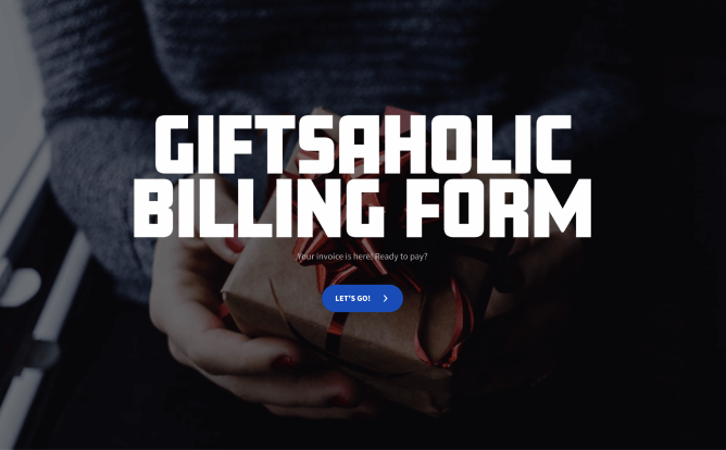 customer billing form template