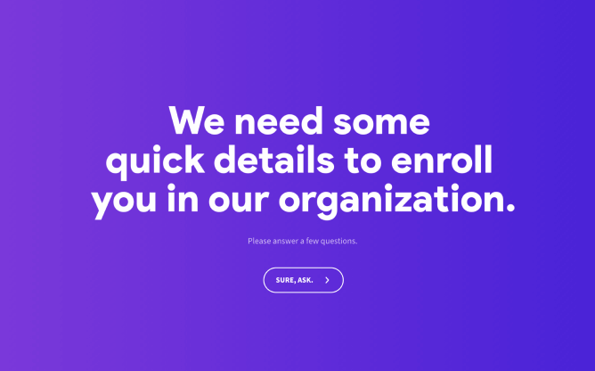 volunteer registration template