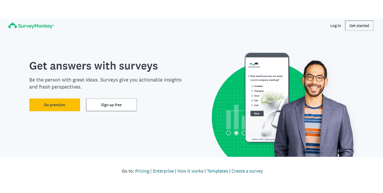 SurveyMonkey - Google Forms Alternative