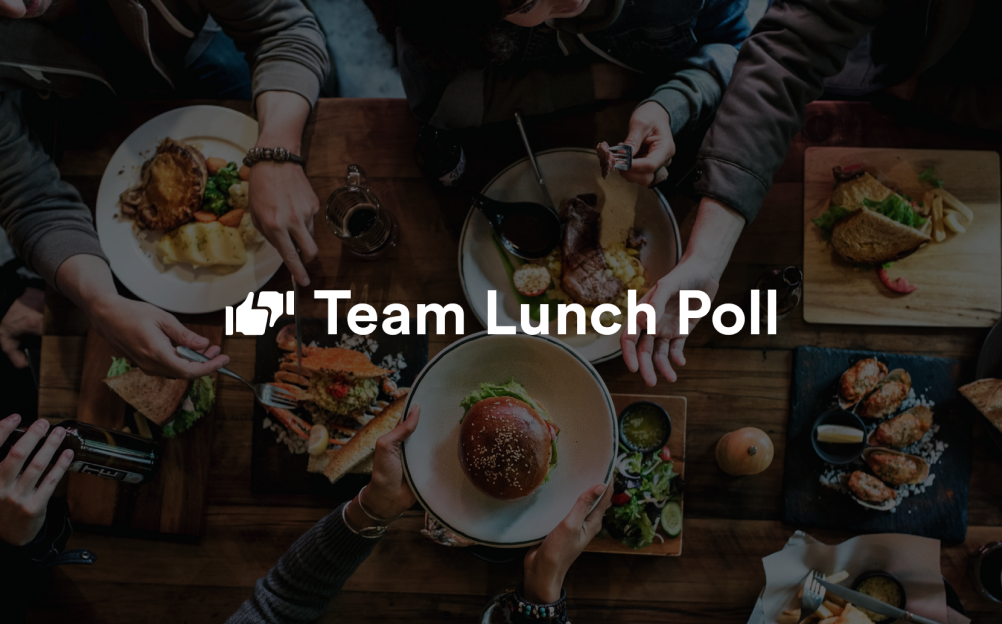 Team Lunch Quick Poll Template