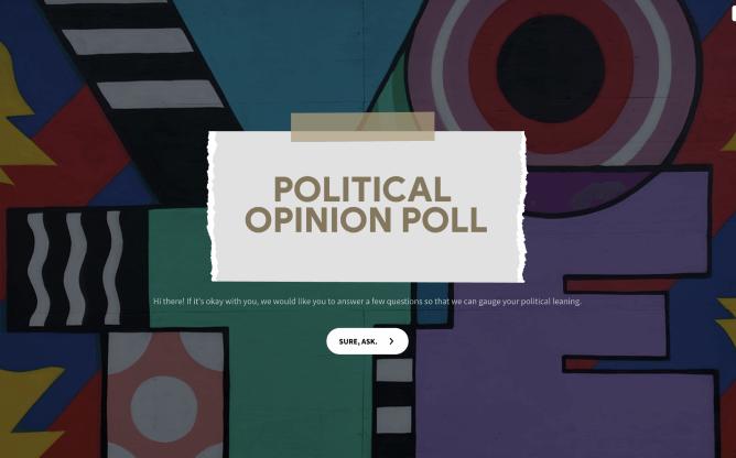 online political poll