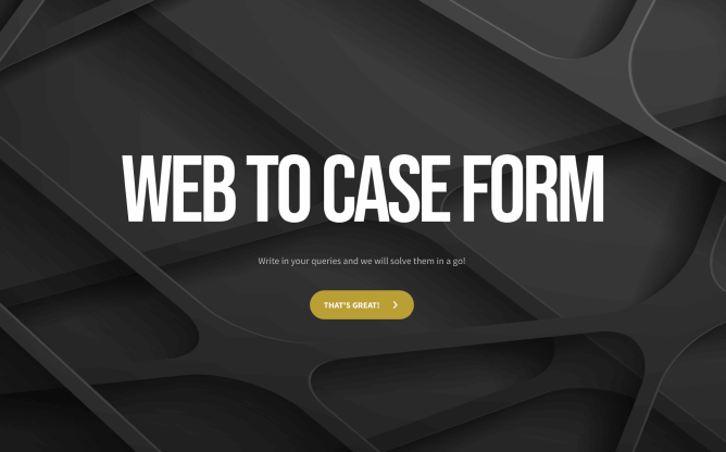 web to case form template