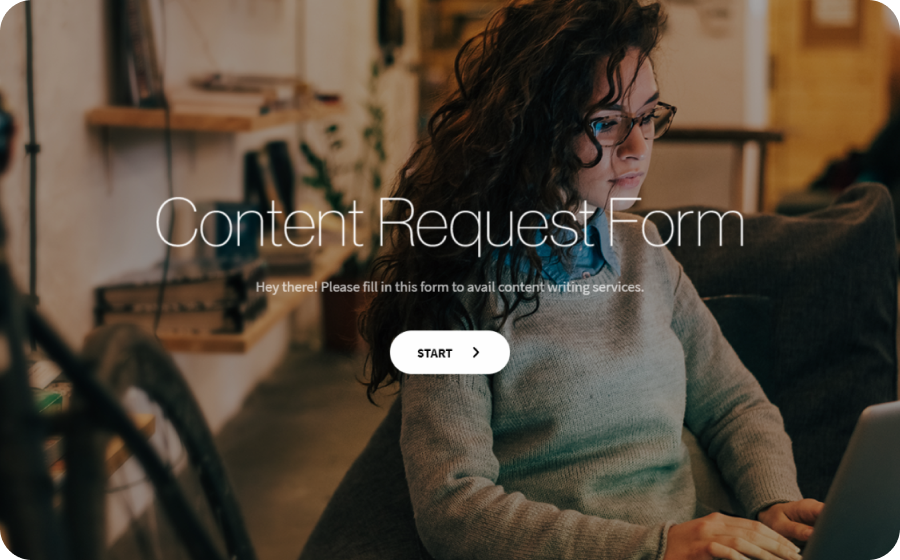 Content Request Form Template