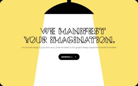 Graphic Design Request Form Template