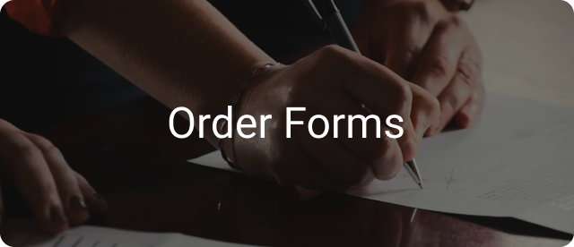Order Forms Templates