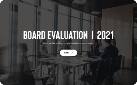 Board Evaluation Questionnaire Form Template