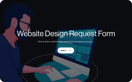 Website Design Request Form Template