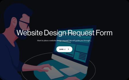 Website Design Request Form Template