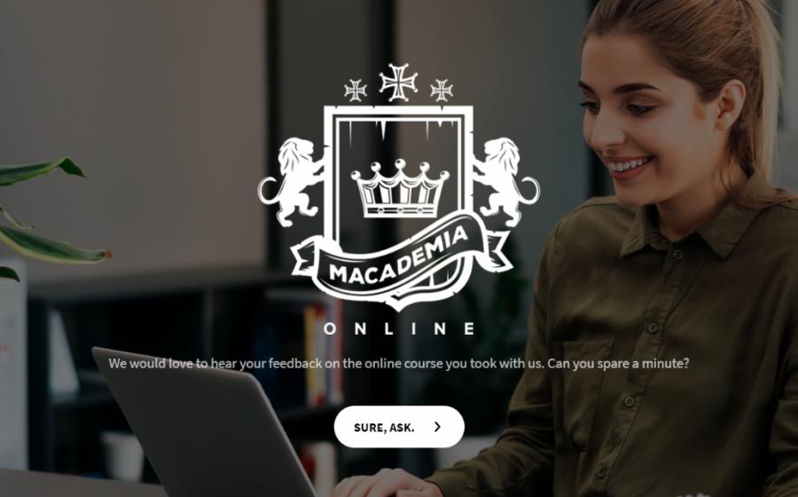 online training feedback