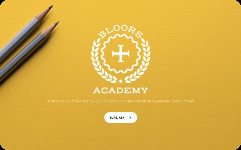virtual class feedback template