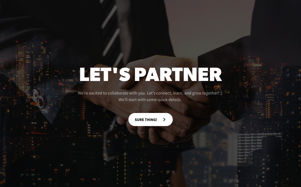 Agency Partnering Questionnaire Template