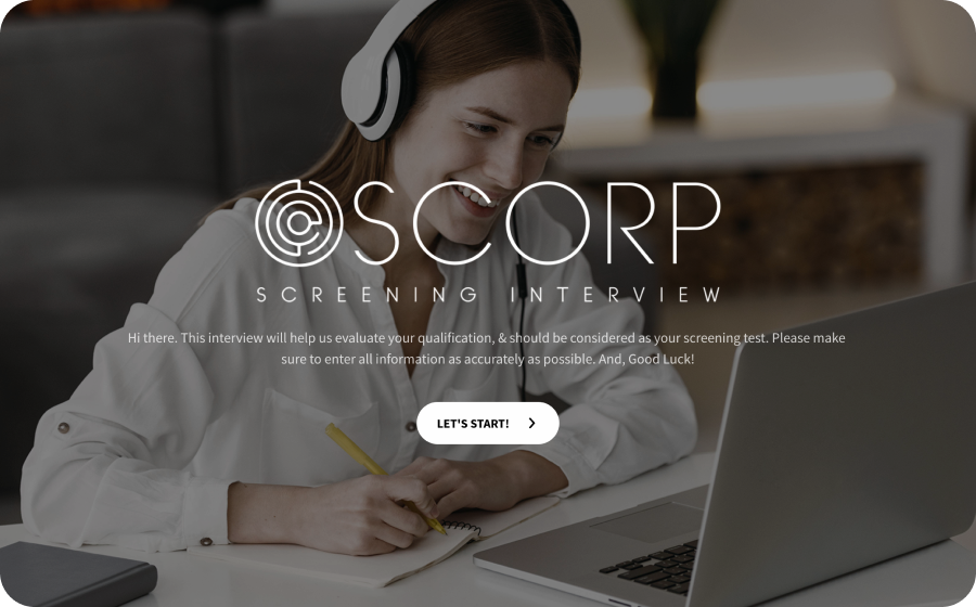 online interview questionnaire