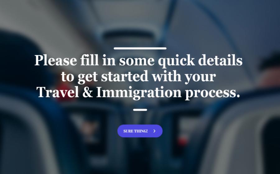 covid-19 travel survey template