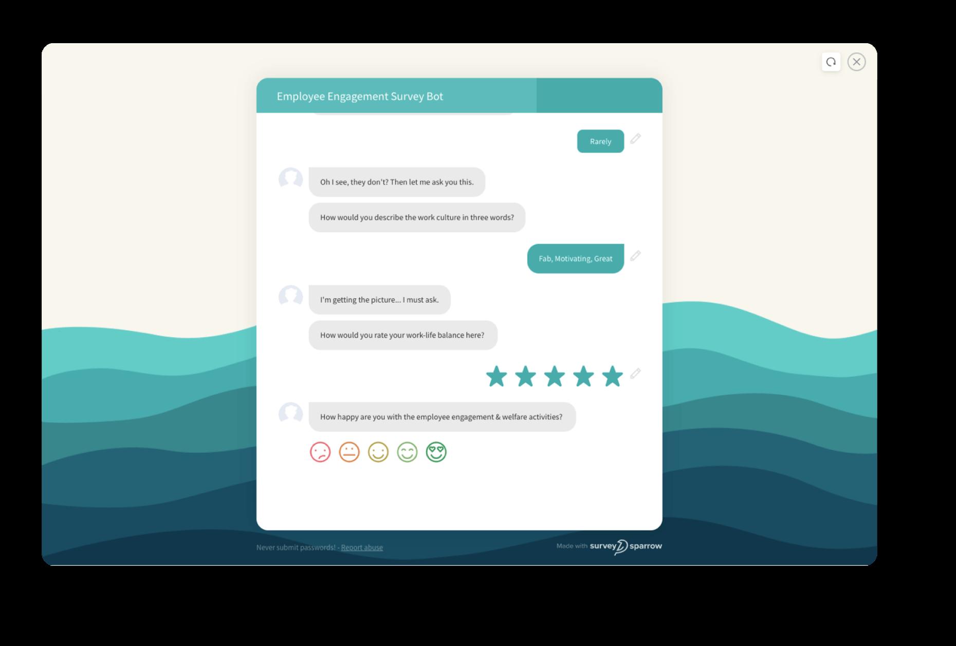Chat Based Surveys