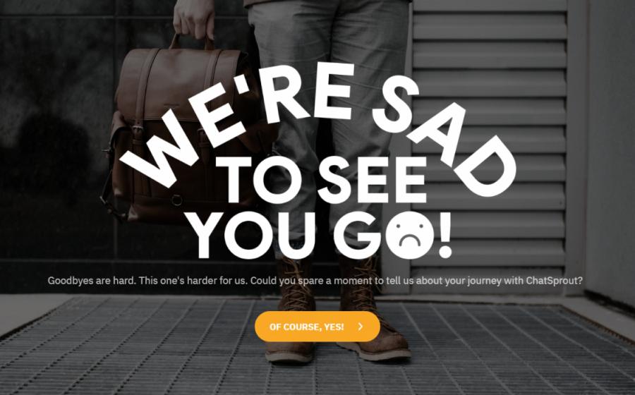 customer exit survey template
