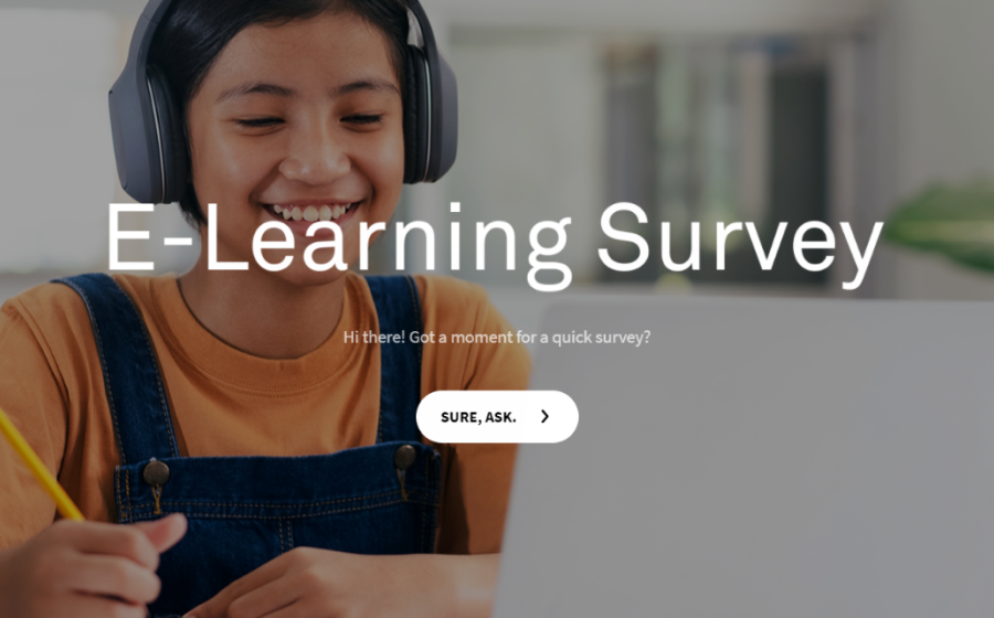 e-learning lead generation survey template