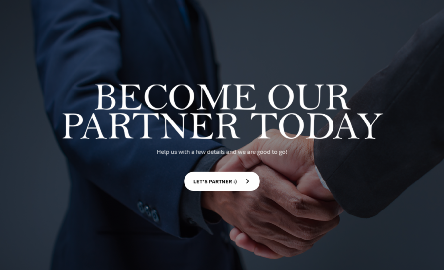 partnership application form template