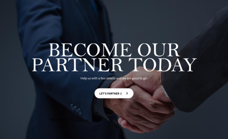 partnership application form template