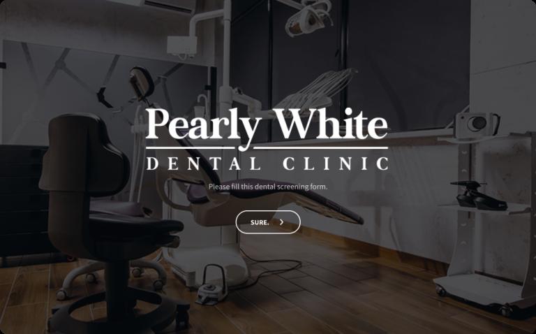 Dental Screening Form Template