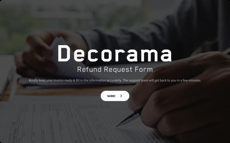 Refund Request Form Templates