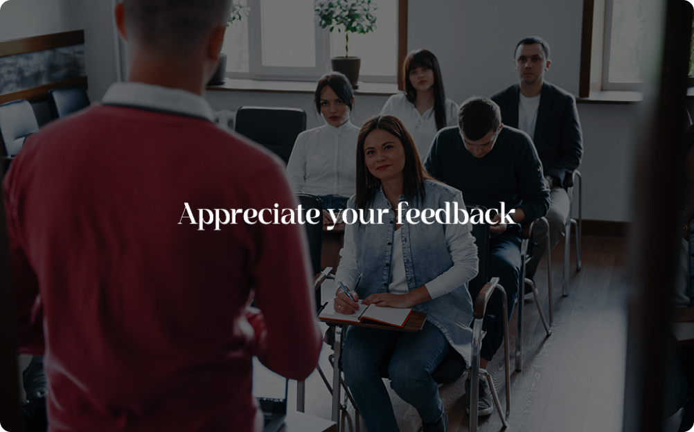 Participant Feedback Form Template