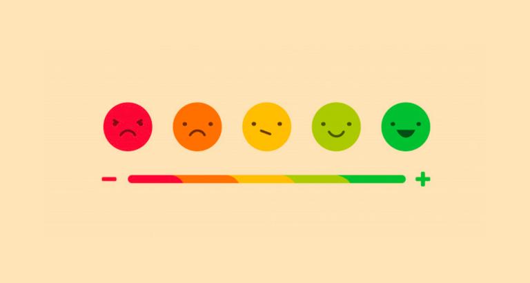 Likert scale in online surveys