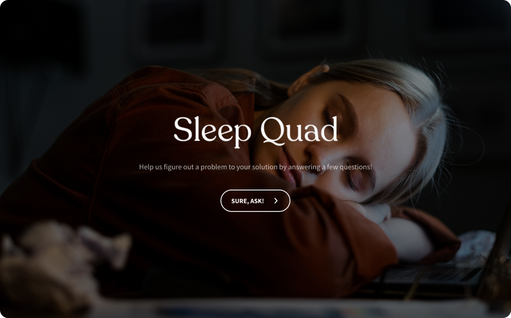 Sleep Deprivation Survey Template