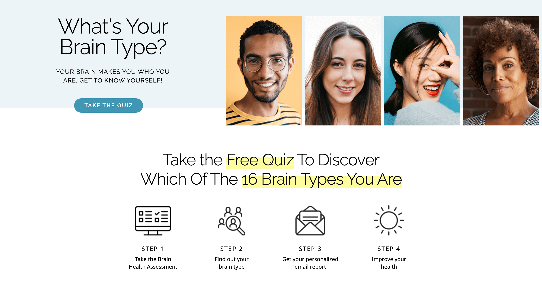 brainmd brain type quiz example