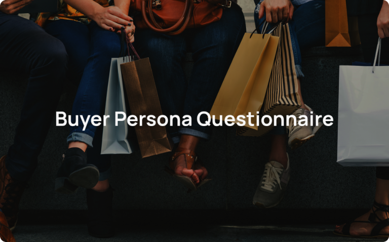 buyer persona questionnaire template