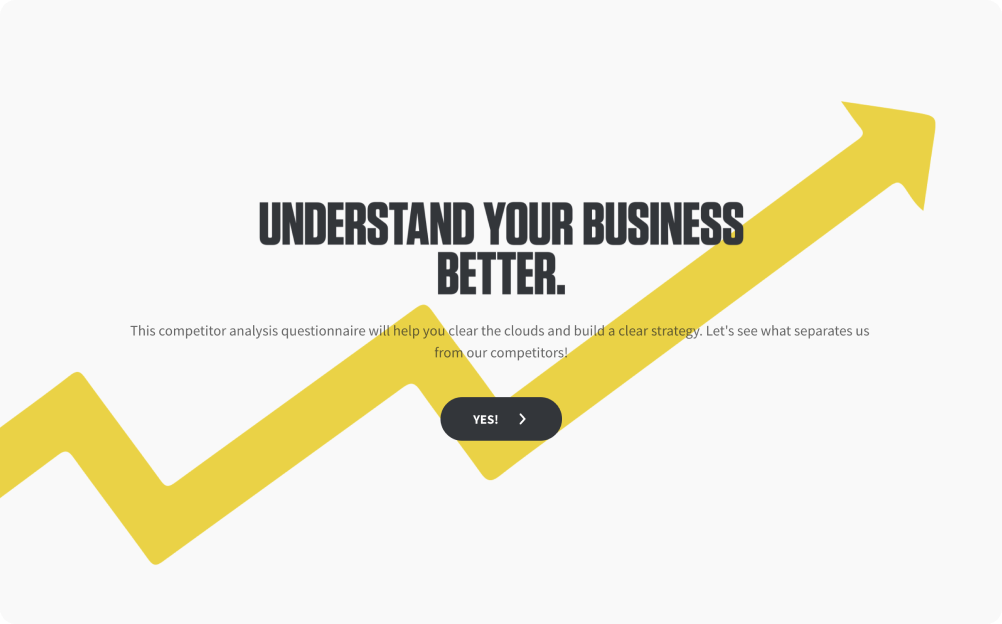 competitor analysis questionnaire template