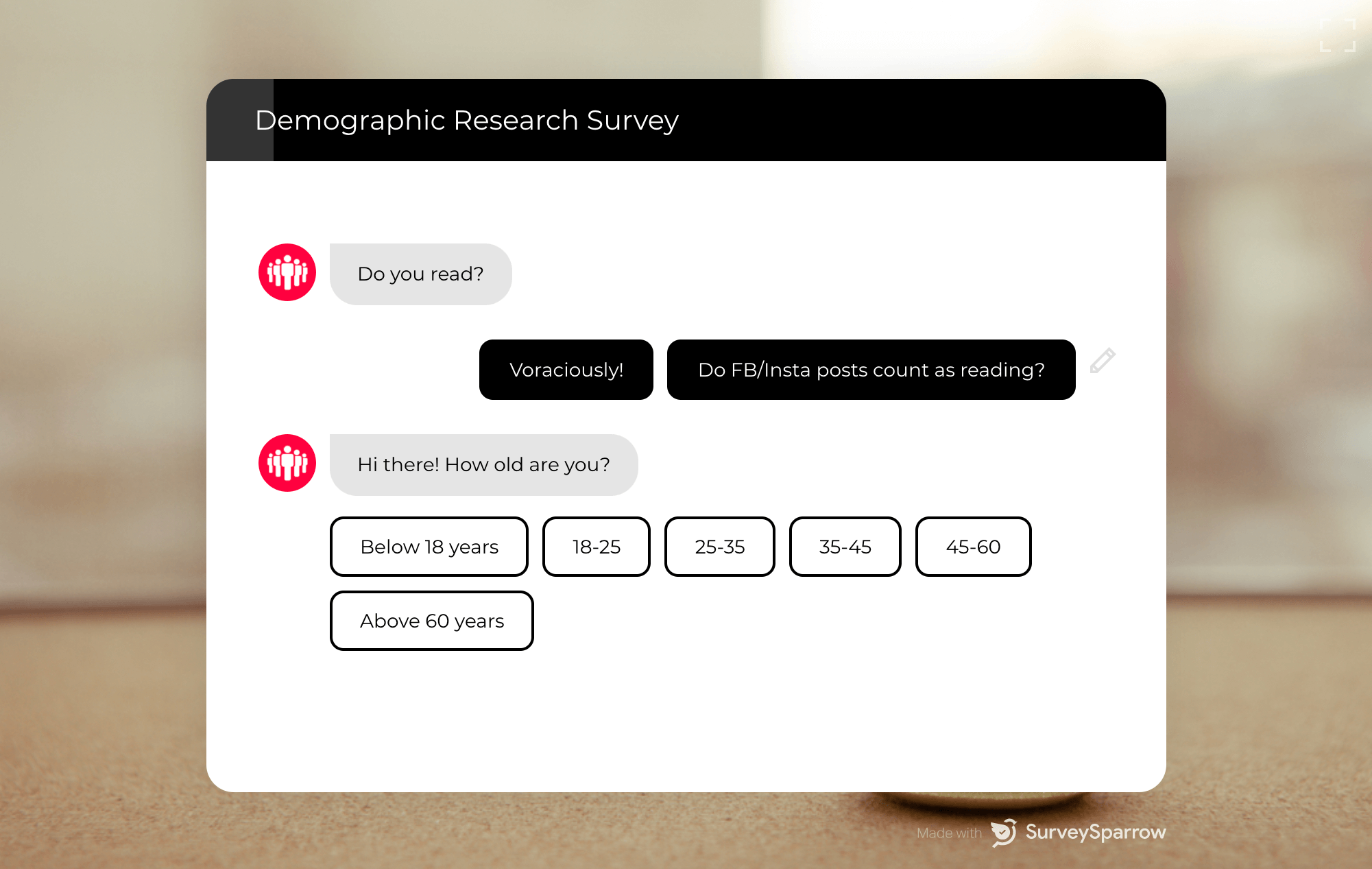 demographic question example