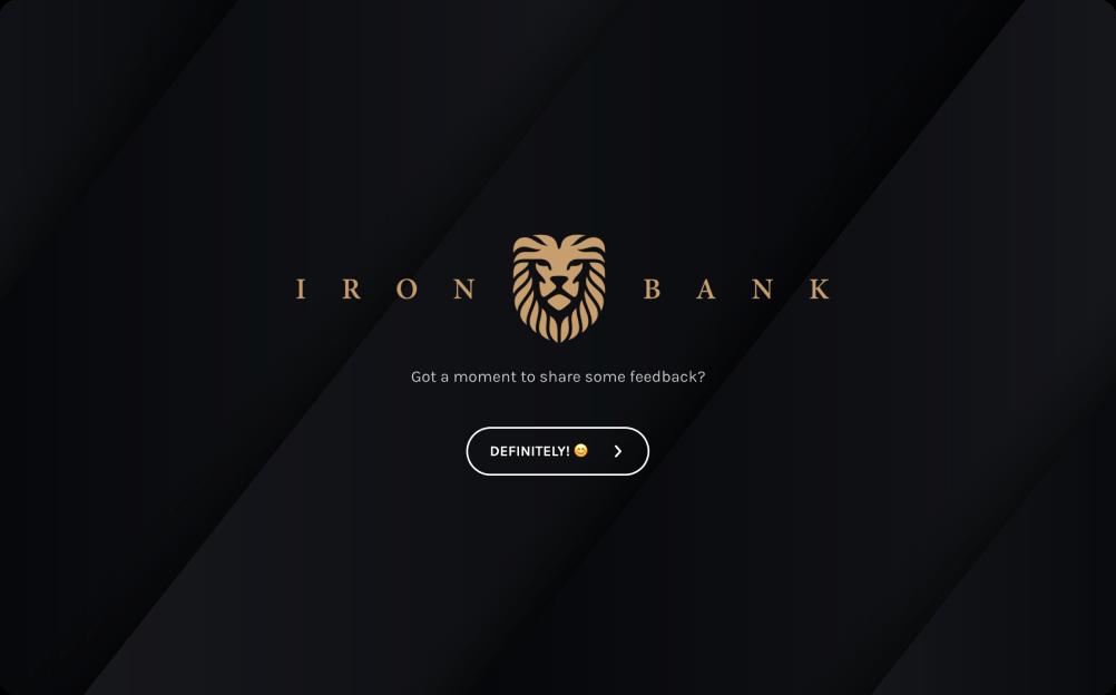 e-banking questionnaire template